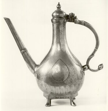 Aftabeh (Ewer), 18th century. Brass, Height: 11 1/2 in. (29.2 cm). Brooklyn Museum, Gift of Dr. and Mrs. James R. Miller, 81.195. Creative Commons-BY