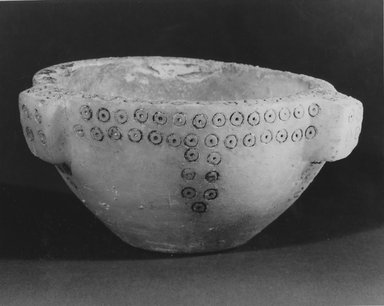 Sumerian. Bowl, 3rd millennium B.C.E. Alabaster, 3 x Diam. 5 1/8 in. (7.6 x 13 cm). Brooklyn Museum, Gift of Jonathan P. Rosen, 82.116.19. Creative Commons-BY
