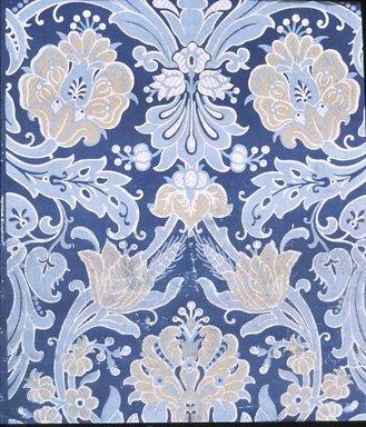 Jeffrey & Co.. Wallpaper, ca. 1885. Paper, 19 3/4 x 24 in. (50.2 x 61.0 cm). Brooklyn Museum, Gift of Arlene M. and Thomas C. Ellis, 82.239.18