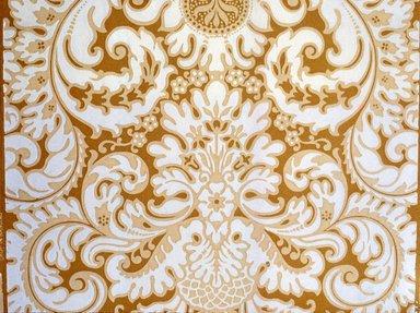 Jeffrey & Co.. Wallpaper, ca. 1900. Paper, 21 1/4 x 22 1/4 in. (54.0 x 57.2 cm). Brooklyn Museum, Gift of Arlene M. and Thomas C. Ellis, 82.239.2
