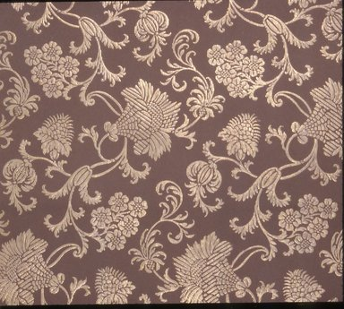 Jeffrey & Co.. Wallpaper, ca. 1900. Paper, 21 1/4 x 22 1/2 in. (54.0 x 57.2 cm). Brooklyn Museum, Gift of Arlene M. and Thomas C. Ellis, 82.239.28