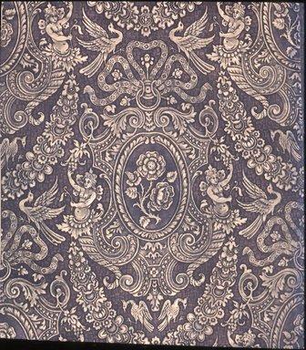 Wallpaper, ca. 1890. Paper, 24 1/2 x 19 3/4 in. (62.2 x 50.2 cm). Brooklyn Museum, Gift of Arlene M. and Thomas C. Ellis, 82.239.35