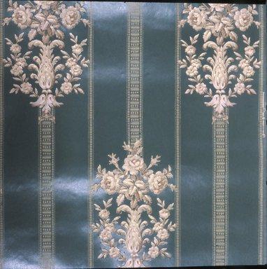 J. Z. Zuber & Cie.. Wallpaper, ca. 1900. Paper, 19 1/2 x 22 5/8 in. (49.5 x 57.5 cm). Brooklyn Museum, Gift of Arlene M. and Thomas C. Ellis, 82.239.39