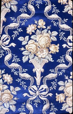 J. Z. Zuber & Cie.. Wallpaper, pattern Embossed No.458B, ca. 1890. Paper, 19 3/4 x 35 in. (50.2 x 88.9 cm). Brooklyn Museum, Gift of Arlene M. and Thomas C. Ellis, 82.239.5