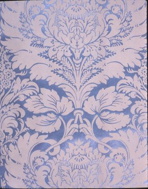 H. H. Mott. Wallpaper, ca. 1890. Paper, 22 x 28 in. (55.8 x 71.1 cm). Brooklyn Museum, Gift of Arlene M. and Thomas C. Ellis, 82.239.53