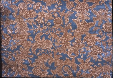 Wallpaper, ca. 1890. Paper, 25 x 37 1/2 in. (63.5 x 95.2 cm). Brooklyn Museum, Gift of Arlene M. and Thomas C. Ellis, 82.239.55