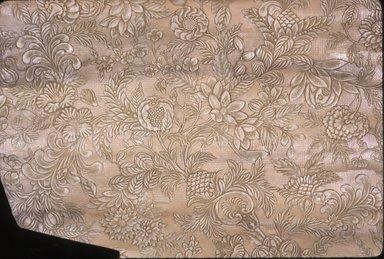 Wallpaper, ca. 1880. Paper, 37 x 22 in. (94.0 x 55.9 cm). Brooklyn Museum, Gift of Arlene M. and Thomas C. Ellis, 82.239.57