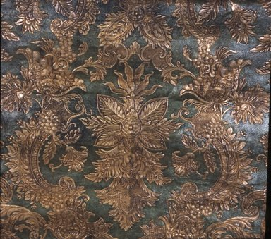 Wallpaper, ca. 1880. Paper, 36 1/2 x 32 3/4 in. (92.7 x 83.2 cm). Brooklyn Museum, Gift of Arlene M. and Thomas C. Ellis, 82.239.69