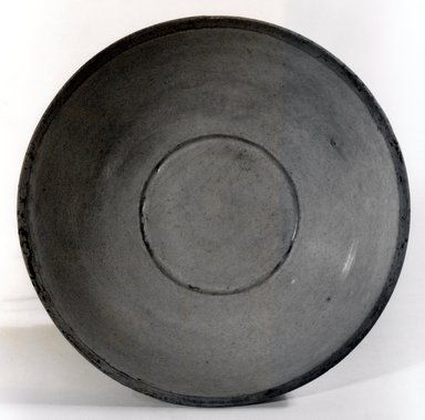 Bowl, 11th-12th century. Ch'ing Pai ware, buff-white stoneware, glazed, 2 3/4 x 6 5/8 in. (7 x 16.8 cm). Brooklyn Museum, Gift of Dr. Andrew Dahl, 83.112.3. Creative Commons-BY