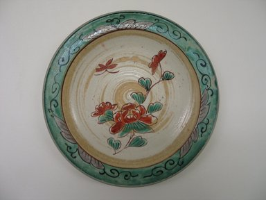 Kutani Dish, 19th century. Porcelain, 1 1/8 x 7 1/8 in. (2.9 x 18.1 cm). Brooklyn Museum, Gift of Mr. and Mrs. David Goldschild, 84.249.2. Creative Commons-BY