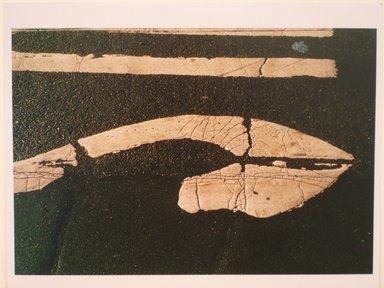 Richard Rivera (American, born 1948). Graphics on Asphalt. Cibachrome print Brooklyn Museum, Gift of Sol and Sheila Zaretsky, 85.135.3. © Richard Rivera