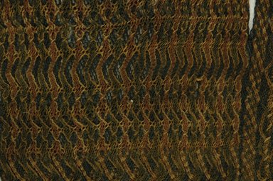 Coptic. Textile, 9th century C.E. Wool, 13 1/8 x 8 1/2 in. (33.4 x 21.6 cm). Brooklyn Museum, Gift of Philip Gould, 85.165.1. Creative Commons-BY