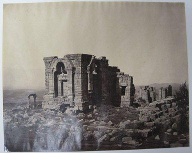 "Samuel Bourne (British, 1834-1912). Print from ""Views of India,"" 1862-1872. Albumen silver photograph, 8 1/4 x 10 3/4 in. (21 x 27.3 cm). Brooklyn Museum, Gift of Matthew Dontzin, 85.274.10"