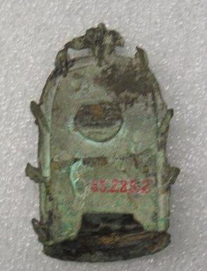 Buddha Sakyamuni, 11th century. Bronze, 3 3/4 x 2 3/8 in. (9.5 x 6 cm). Brooklyn Museum, Gift of Mr. and Mrs. Don Yearwood, 85.285.2. Creative Commons-BY