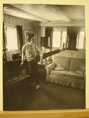 Philippe Halsman (American, born Latvia, 1906-1979). Joanne Woodward, 1963. Gelatin silver photographs Brooklyn Museum, Gift of Dr. and Mrs. Arthur E. Kahn, 85.294.1. © Halsman Archive