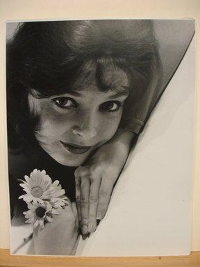 Philippe Halsman (American, born Latvia, 1906-1979). Anita Gillette, 1951. Gelatin silver photograph Brooklyn Museum, Gift of Dr. and Mrs. Arthur E. Kahn, 85.294.10. © Halsman Archive