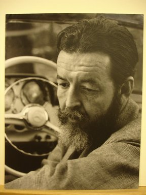 Philippe Halsman (American, born Latvia, 1906-1979). Randall Jarrell (Looking Down), 1958. Gelatin silver photograph Brooklyn Museum, Gift of Dr. and Mrs. Arthur E. Kahn, 85.294.11. © Halsman Archive
