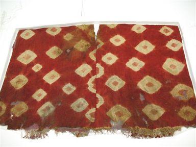 Coastal Wari (attrib by Nobuko Kajatani, 1993). Tunic, 600-1000. Camelid fiber, pigment, 31 1/8 x 43 5/16in. (79 x 110cm). Brooklyn Museum, Gift of the Ernest Erickson Foundation, Inc., 86.224.70. Creative Commons-BY