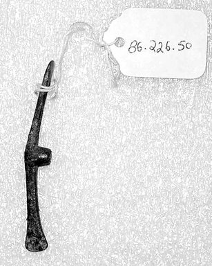 Miniature Ax Head, late second millennium B.C.E. Bronze, 2 1/2in. (6.3cm). Brooklyn Museum, Gift of the Ernest Erickson Foundation, Inc., 86.226.50. Creative Commons-BY