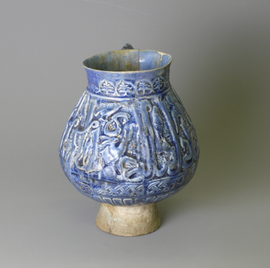 Jug, 12th century. Ceramic, glaze, 7 1/16 x 5 1/8 in. (18 x 13 cm). Brooklyn Museum, Gift of the Ernest Erickson Foundation, Inc., 86.227.17. Creative Commons-BY