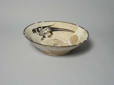 Bowl, 10th century. Ceramic, glaze, 2 7/16 x 8 3/8 in. (6.2 x 21.3 cm). Brooklyn Museum, Gift of the Ernest Erickson Foundation, Inc., 86.227.20. Creative Commons-BY