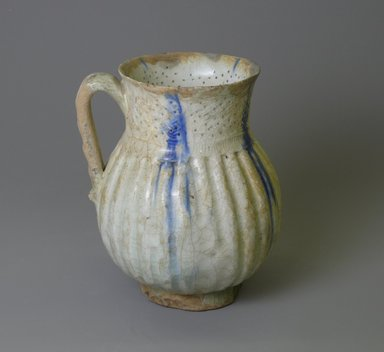 Jug, 12th century. Ceramic, glaze, 6 x 4 13/16 in. (15.2 x 12.2 cm). Brooklyn Museum, Gift of the Ernest Erickson Foundation, Inc., 86.227.22. Creative Commons-BY
