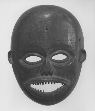 Ngbaka. Face Mask, 20th century. Wood, pigment, 11 1/2 x 9 1/8 x 3 1/2 in. (29.2 x 23.2 x 9.0 cm). Brooklyn Museum, Gift of Dr. Martin and Suzanne Schulman, 86.230.1. Creative Commons-BY