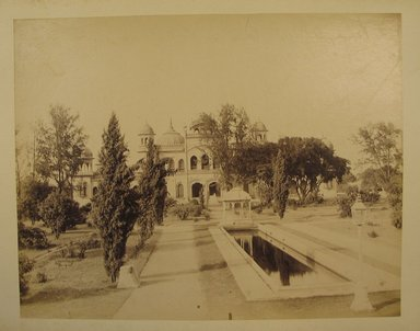 Brooklyn Museum: Print from Album of Photographs: Architecture in India