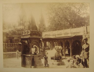 Possibly Samuel Bourne (British, 1834-1912). Print from Album of Photographs: Architecture in India, 1862-1872. Albumen silver photograph, 8 1/16 x 10 13/16 in. (20.5 x 27.4 cm). Brooklyn Museum, Gift of Matthew Dontzin, 86.256.13
