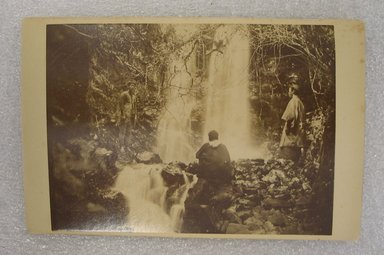 View of Japan, late 19th-early 20th century. Albumen silver photograph mounted on cardboard, with mounting: 4 3/16 x 6 7/16 in. (10.6 x 16.4 cm). Brooklyn Museum, Gift of Matthew Dontzin, 86.256.37