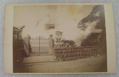 View of Japan, late 19th-early 20th century. Albumen silver photograph mounted on cardboard, with mounting: 4 3/16 x 6 7/16 in. (10.6 x 16.3 cm). Brooklyn Museum, Gift of Matthew Dontzin, 86.256.59