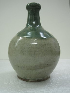 Wine Bottle, 19th century. Matsushiro ware, stoneware, 7 3/4 x 4 1/2 in. (19.7 x 11.4 cm). Brooklyn Museum, Gift of Dr. and Mrs. John P. Lyden, 86.271.53. Creative Commons-BY
