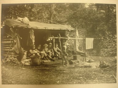 Charles H. Breed (American, 1876-1950). Camping Out, n.d. Gelatin silver photograph, 6 1/2 x 5 1/4 in. (16.5 x 13.3 cm). Brooklyn Museum, Gift of Jack Lubiner, 86.50.2. © Jack T. Lubiner