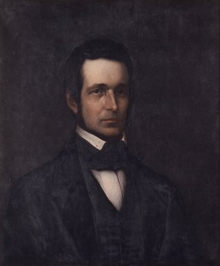 Platt Powell Ryder (American, 1821-1896). Charles M. Olcott, 1888. Oil on canvas, 30 x 24 15/16 in. (76.2 x 63.3 cm). Brooklyn Museum, Transferred from the Brooklyn Institute of Arts and Sciences to the Brooklyn Museum, 97.1