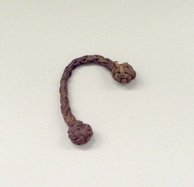 Plains (Native American). Braided Rope. Rope Brooklyn Museum, Brooklyn Museum Collection, X1126.25. Creative Commons-BY