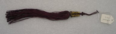 Brooklyn Museum: Tassel (Norigae) with Boy Figure Decorations