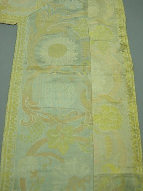 Textile Panel, ca. 1800. Silk, 49 x 123 in. (124.5 x 312.4 cm). Brooklyn Museum, Brooklyn Museum Collection, X1190.3