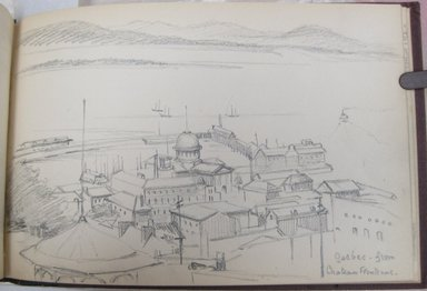 Brooklyn Museum: Sketchbook of Quebec Scenery