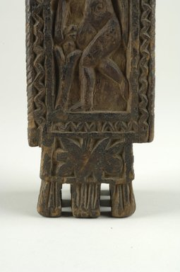Brown Wooden Stand or Holder, 6th-7th century C.E. Wood, 10 9/16 in.  (26.8 cm). Brooklyn Museum, Brooklyn Museum Collection, X491. Creative Commons-BY