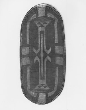 Zande. Shield (Kube), late 19th century. Fiber, 43 1/2 x 20in. (110.5 x 50.8cm). Brooklyn Museum, Brooklyn Museum Collection, X756. Creative Commons-BY