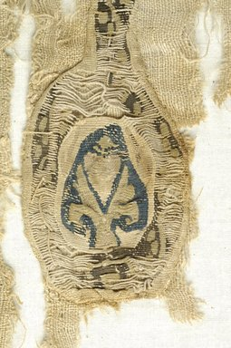 Coptic. Textile. Wool, flax?, 27 1/2 x 11 1/2 in. (69.9 x 29.2 cm). Brooklyn Museum, Brooklyn Museum Collection, X945. Creative Commons-BY