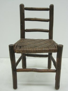 Child's Side Chair, 20th century. Wood and reed, 21 x 11 7/8 x 10 5/8 in. (53.3 x 30.2 x 27 cm). Brooklyn Museum, Maria L. Emmons Fund, 2002.69.1. Creative Commons-BY