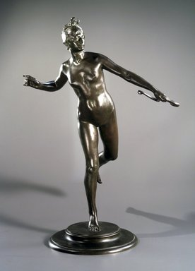 Frederick William MacMonnies (American, 1863-1937). Diana, 1890. Bronze, Overall: 30 3/8 x 20 7/8 x 16 3/4 in. (77.2 x 53 x 42.5 cm). Brooklyn Museum, Gift of William C. Brown, 2005.31. Creative Commons-BY