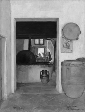 Brooklyn Museum: The Olive Oil Press, Capri