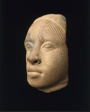 Brooklyn Museum: Fragment of a Head