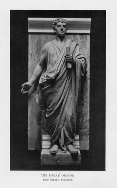 John Gelert (American, 1852-1923). The Roman Orator, 1909. Indiana limestone, Approx. height: 144 in. (365.8 cm). Brooklyn Museum, Gift of the City of New York, Parks and Recreation, 09.937.29. Creative Commons-BY