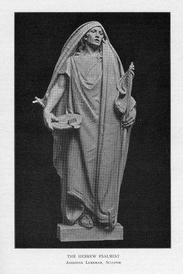 Augustus Lukeman (American, 1871-1935). The Hebrew Psalmist, 1909. Indiana limestone, Approx. height: 144 in. (365.8 cm). Brooklyn Museum, Gift of the City of New York, Parks and Recreation, 09.937.12. Creative Commons-BY