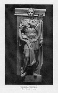 John Gelert (American, 1852-1923). The Roman Emperor, 1909. Indiana limestone, Approx. height: 144 in. (365.8 cm). Brooklyn Museum, Gift of the City of New York, Parks and Recreation, 09.937.28. Creative Commons-BY