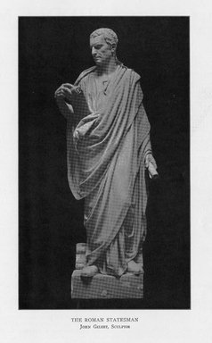 John Gelert (American, 1852-1923). The Roman Statesman, 1909. Indiana limestone, Approx. height: 144 in. (365.8 cm). Brooklyn Museum, Gift of the City of New York, Parks and Recreation, 09.937.27. Creative Commons-BY