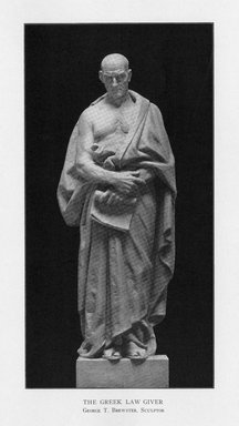 George Thomas Brewster (American, 1862-1943). The Greek Statesman, 1909. Indiana limestone, Approx. height: 144 in. (365.8 cm). Brooklyn Museum, Gift of the City of New York, Parks and Recreation, 09.937.19. Creative Commons-BY